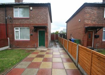 Thumbnail 2 bedroom end terrace house to rent in Rowsley Road, Stretford, Manchester