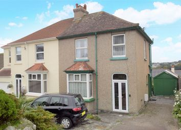 Thumbnail 3 bed semi-detached house for sale in Kings Avenue, Falmouth