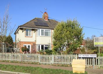 Thumbnail 3 bed semi-detached house for sale in St Peters Road, Stowmarket