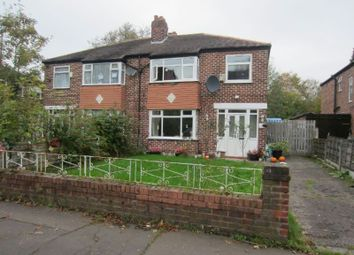 Thumbnail 3 bed semi-detached house to rent in Manley Road, Whalley Range, Manchester