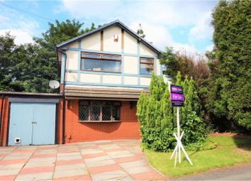 Thumbnail 3 bed detached house for sale in Lambley Close, Leigh