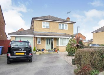 Thumbnail 3 bed detached house for sale in Federation Avenue, Desborough, Kettering