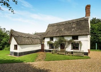 Thumbnail 3 bed detached house for sale in Long Stratton, Norwich, Norfolk