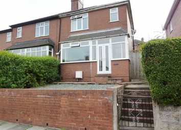 Thumbnail 2 bedroom semi-detached house to rent in East Crescent, Sneyd Green, Stoke-On-Trent