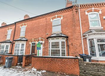 Thumbnail 3 bed terraced house for sale in Frederick Road, Sparkhill, Birmingham