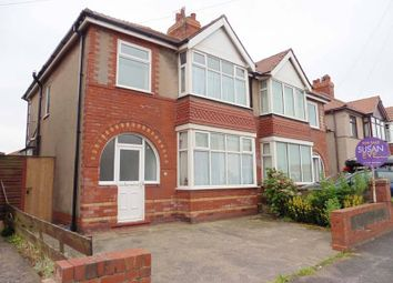 Thumbnail 3 bed semi-detached house for sale in Slinger Road, Thornton-Cleveleys