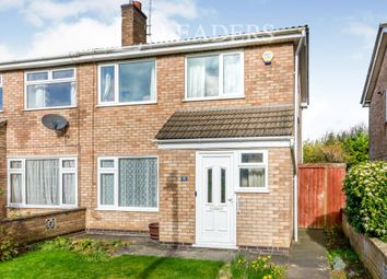Thumbnail 3 bed semi-detached house to rent in Melrose Close, Stamford