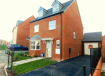 Thumbnail 5 bed detached house for sale in Sandpiper Drive, Doxey, Stafford