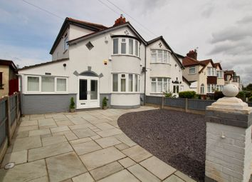 Thumbnail 3 bed semi-detached house for sale in Church Road, Liverpool