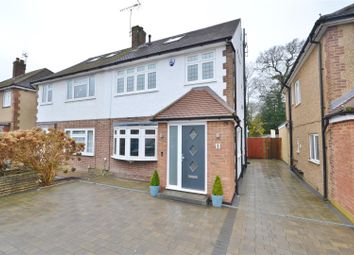Thumbnail 4 bed semi-detached house for sale in Pickets Close, Bushey Heath, Bushey