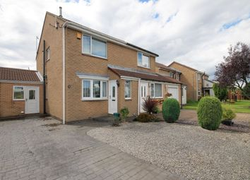 Thumbnail 2 bed semi-detached house for sale in Bradley Close, Ouston, Chester Le Street