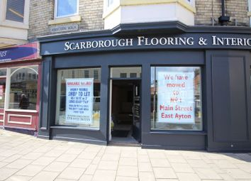 Thumbnail Retail premises to let in Victoria Road, Scarborough