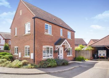 Thumbnail 3 bed detached house for sale in Benstead Close, Heacham, King's Lynn