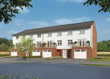"Thumbnail 4 bed end terrace house for sale in ""Kensington"" at Homington Avenue, Coate, Swindon"