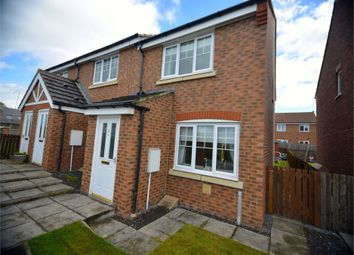 Thumbnail 2 bed end terrace house for sale in Temple Forge Mews, Consett, Durham