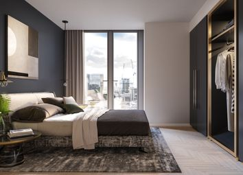 Thumbnail 2 bed flat for sale in One Crown Place, London