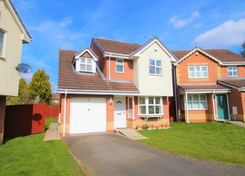 Thumbnail 3 bed detached house for sale in Lawnlea Close, Sunnyhill, Derby