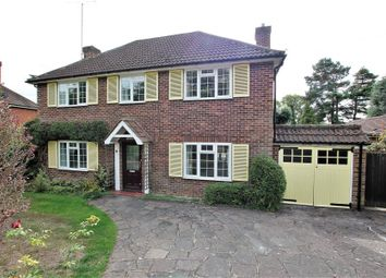 Thumbnail 4 bed detached house to rent in Ridge Close, Hook Heath, Woking