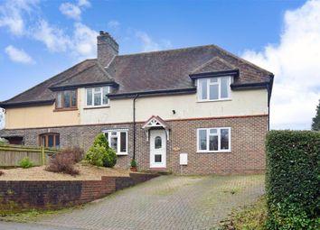 Thumbnail 4 bed semi-detached house for sale in Hollow Lane, Dormansland, Surrey