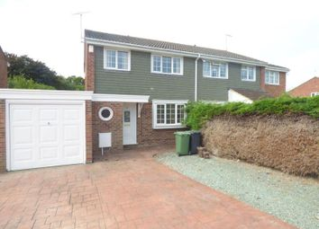 Thumbnail 3 bed semi-detached house to rent in Hawk Close, Abbeydale, Gloucester