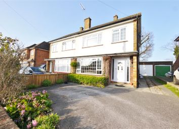 Thumbnail 3 bedroom semi-detached house for sale in Marks Avenue, Ongar, Essex
