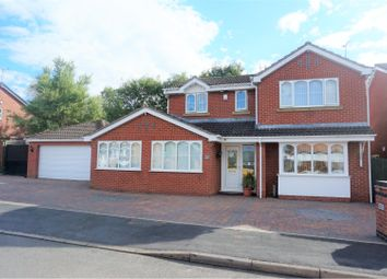 Thumbnail 4 bed detached house for sale in Hawker Road, Oadby