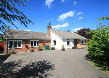 Thumbnail 4 bedroom detached bungalow for sale in Chevington, Bury St Edmunds, Suffolk