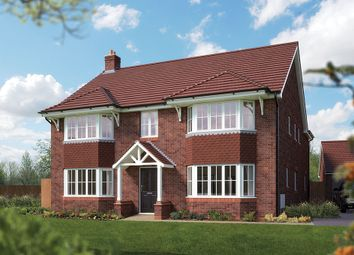 "Thumbnail 5 bed detached house for sale in ""The Ascot"" at Campton Road, Shefford"