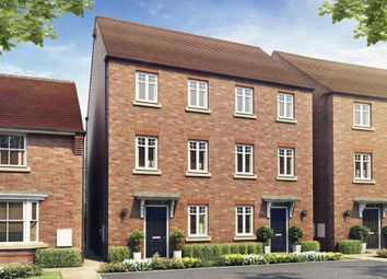 "Thumbnail 3 bed terraced house for sale in ""Cannington"" at Mount Street, Barrowby Road, Grantham"