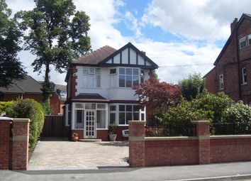 Thumbnail 3 bed detached house for sale in Queens Road, Urmston, Manchester