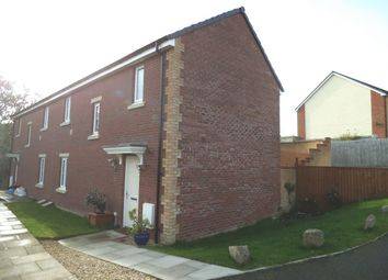 Thumbnail 3 bed semi-detached house for sale in Broadlands, Bridgend