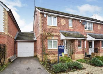 Thumbnail 3 bedroom semi-detached house to rent in Amber Close, Earley, Reading