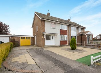 Thumbnail 3 bed semi-detached house for sale in Bramley Garth, York