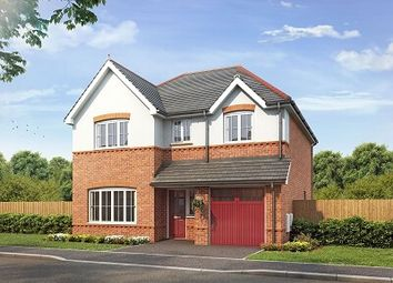 Thumbnail 4 bedroom detached house for sale in Village Road, Northop Hall, Flintshire