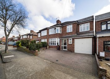 Thumbnail 5 bed semi-detached house for sale in Lodge Avenue, Gidea Park, Romford