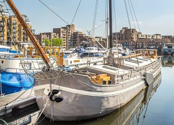 Thumbnail 3 bed houseboat for sale in St Katharine Docks, Wapping