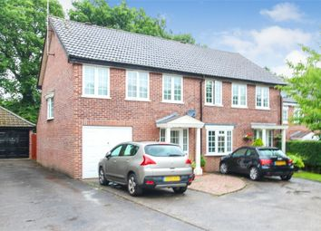 Thumbnail 3 bed semi-detached house for sale in The Dell, East Grinstead, West Sussex