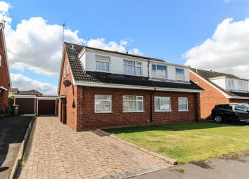 Thumbnail 3 bed semi-detached house for sale in Severn Close, Leamington Spa