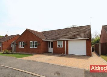 Thumbnail Detached bungalow for sale in Heron Way, Hickling, Norwich