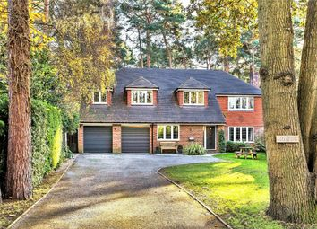 Thumbnail 5 bed detached house for sale in Heathdown Road, Pyrford, Woking