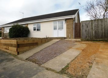 Thumbnail 3 bed semi-detached bungalow for sale in Thirlmere Drive, Stowmarket
