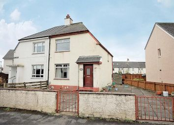 Thumbnail 2 bed semi-detached house for sale in Moss Avenue, Linwood, Paisley