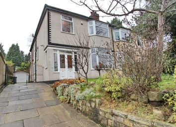 Thumbnail 4 bed semi-detached house for sale in Carr Avenue, Prestwich, Manchester