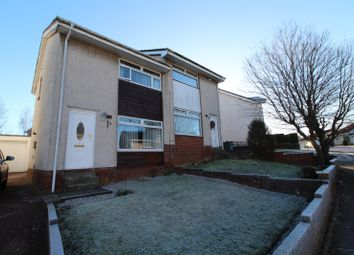 Thumbnail 2 bed semi-detached house for sale in Kirkton Crescent, Coatbridge, North Lanarkshire