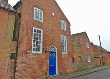 Thumbnail 3 bed terraced house to rent in Spring Lane, Flintham, Newark