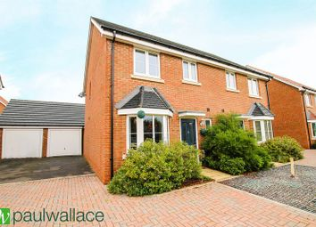 Thumbnail 3 bedroom semi-detached house for sale in Magnolia Way, Cheshunt, Waltham Cross