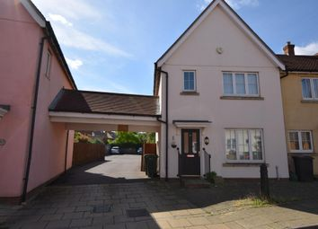 Thumbnail 3 bedroom end terrace house to rent in Elgar Drive, Witham, Essex