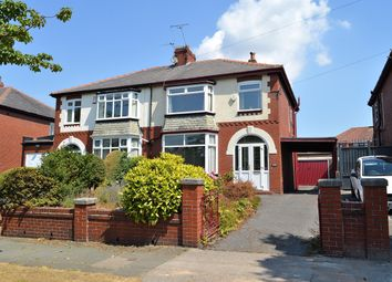 Thumbnail 3 bed semi-detached house for sale in Burnley Lane, Chadderton, Oldham