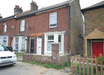 Thumbnail 3 bed end terrace house to rent in Mayers Road, Walmer, Deal