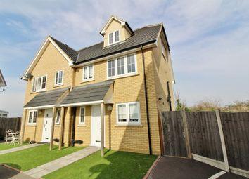 Thumbnail 3 bedroom semi-detached house to rent in Mountside Close, Northfleet, Gravesend
